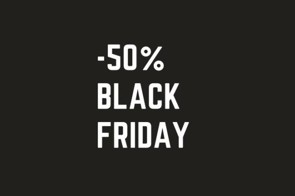 Black Friday | Μηχανογραφήστε την επιχείρησή σας στη μισή τιμή!