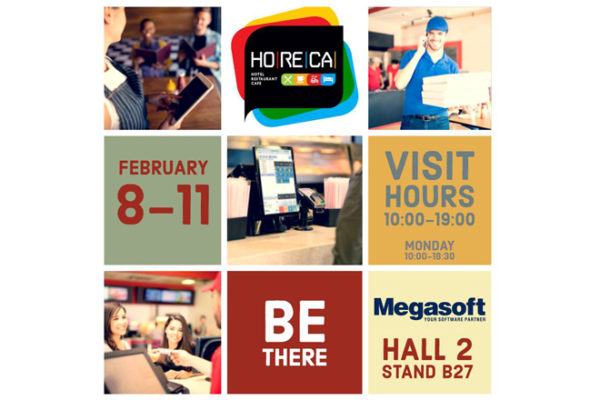 H Megasoft στη HORECA 2019